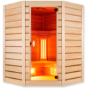 Infrarot Sauna Family Pure Quartz